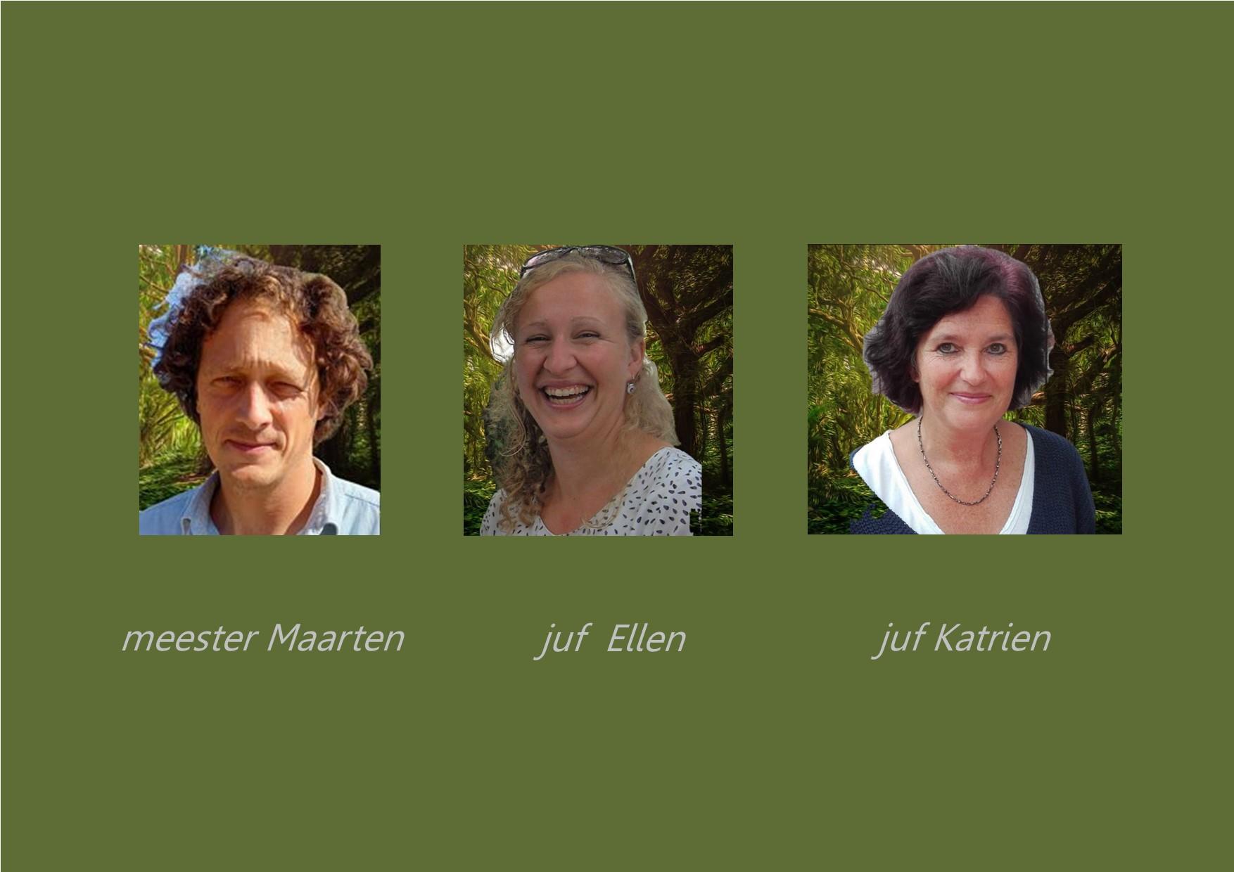 <p>4de leerjaar: juf Ellen en meester Maarten<br />co-teacher: juf Katrien</p>