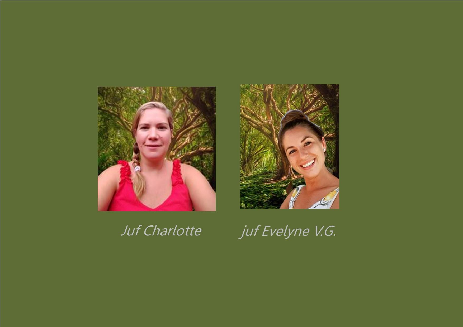<p>3K: dolfijnenklas: juf Charlotte<br />co-teacher: Evelyne Van Gheluwe</p>