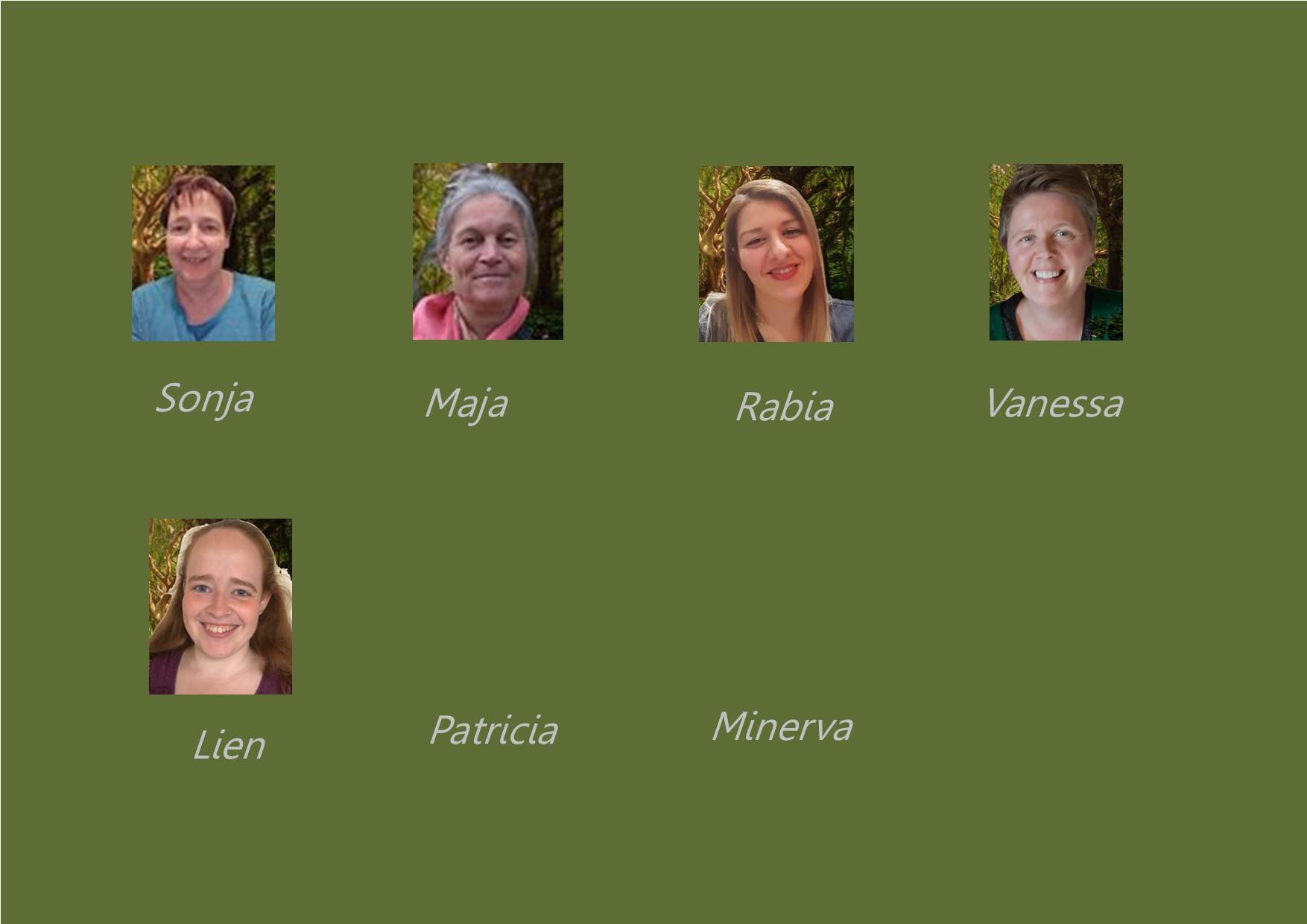 <p>buitenschoolse opvang: juf Lien, juf Sonja, juf Maja, juf Rabia, juf Vanessa, juf Patricia en juf Minerva</p>