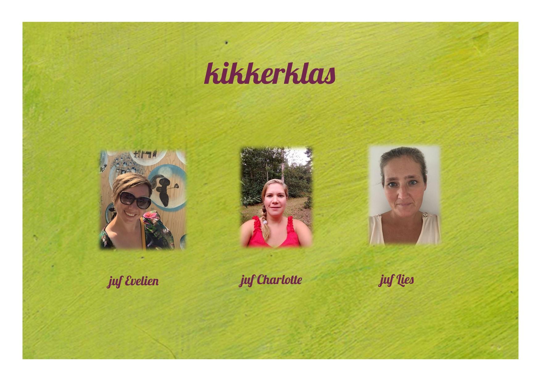 <p>3K: juf Evelien, juf Charlotte en juf Lies</p>
